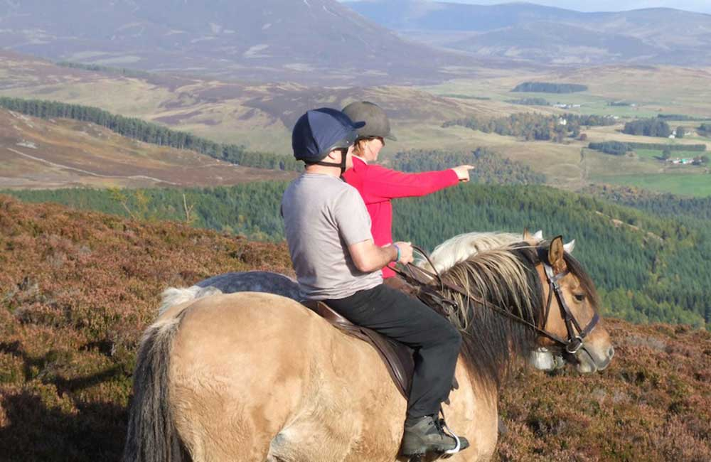 Horse Riding In Perthshire
