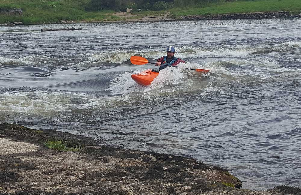 Kayaking The River Tay